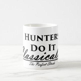 Los cazadores lo hacen clásico taza