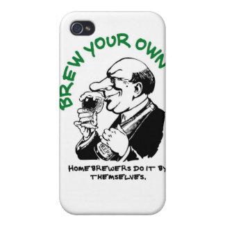 Los cerveceros caseros lo hacen solo iPhone 4 protectores