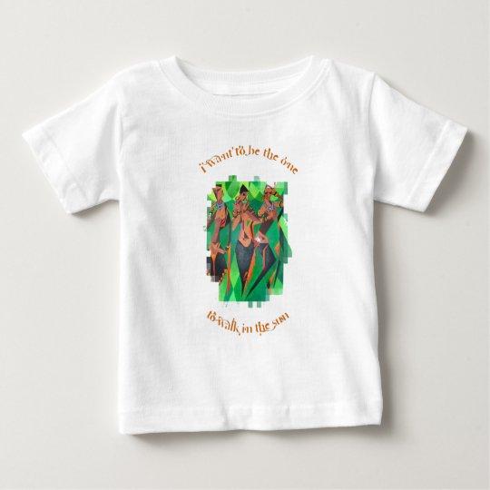 Los chicas apenas quieren divertirse camiseta de bebé