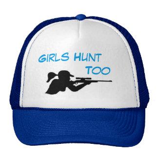 Los chicas cazan también gorros
