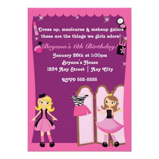 Los chicas del encanto visten para arriba invitaci invitaciones personales