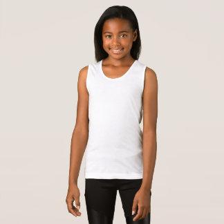 Los chicas multan las camisetas sin mangas del