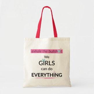 Los chicas pueden hacer todo la bolsa de asas