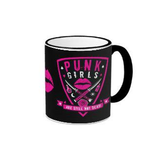 ¡Los chicas punkyes todavía no son muertos! taza -
