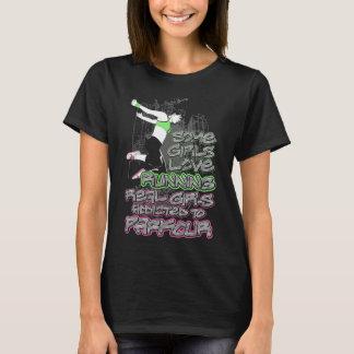 Los chicas reales hacen la camiseta divertida de