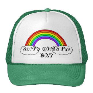 Los chicas tristes soy GAY Gorras