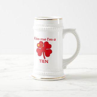 Los chinos personalizados me besan que soy Tien Tazas De Café