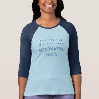 Los científicos no utilizan la camiseta