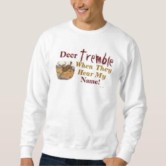 Los ciervos tiemblan cuando oyen mi camiseta