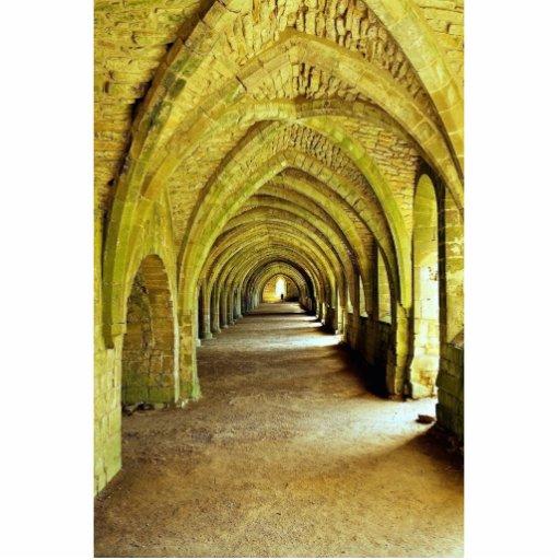 Los claustros, fuentes abadía, North Yorkshire, U Esculturas Fotograficas