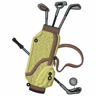 Los clubs de golf bordaron la camisa camiseta polo bordada