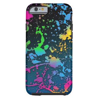 los colores del color de la salpicadura de la funda resistente iPhone 6