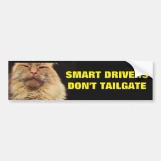 Los conductores elegantes no hacen puerta pegatina para coche