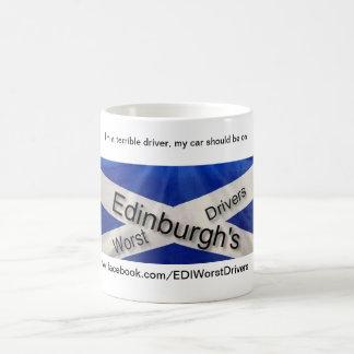 Los conductores peores de Edimburgo - soy un driv Taza De Café