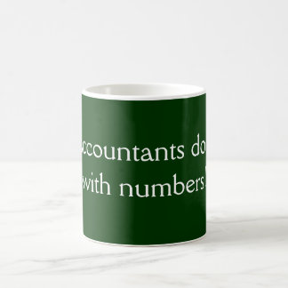 Los contables lo hacen taza de café