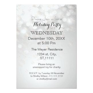 los copos de nieve y la celebración de días invitación 12,7 x 17,8 cm