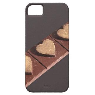 Los corazones del chocolate ahorran la fecha iPhone 5 Case-Mate coberturas