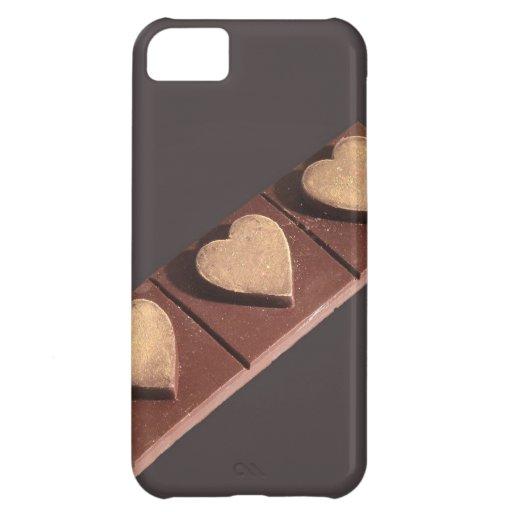 Los corazones del chocolate ahorran la fecha
