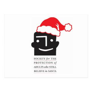 ¡Los creyentes de Santa del ~ de las postales de S