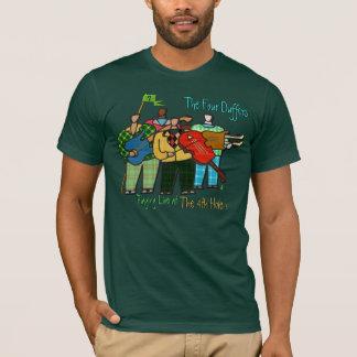 Los cuatro Duffers (camiseta para los hombres) Camiseta