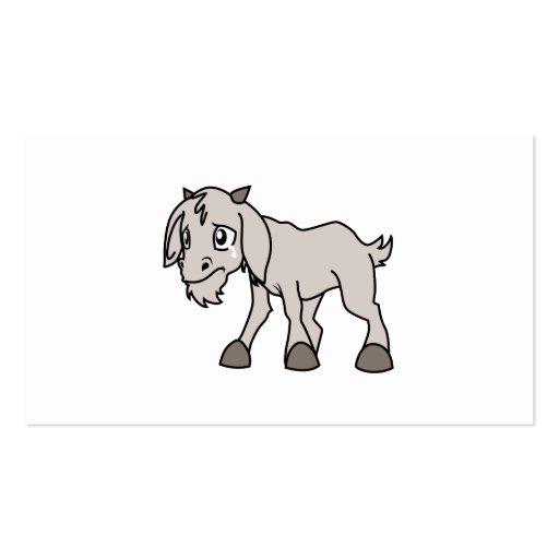 Los derechos de los animales jovenes grises tarjeta de negocio