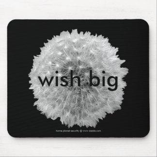 Los deseos son excelentes alfombrilla de ratón