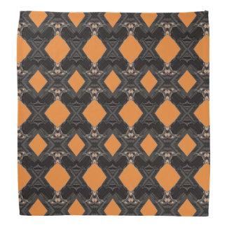 Los diamantes anaranjados diseñaron pañuelo