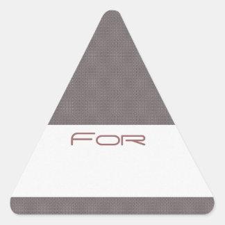 Los diamantes grises modelaron la etiqueta del reg