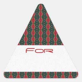 Los diamantes rojos de seda modelaron la etiqueta