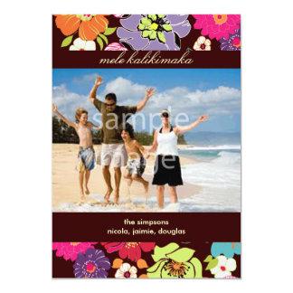 Los días de fiesta photocards/invitan invitación 12,7 x 17,8 cm