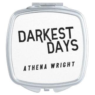 Los días más oscuros por el espejo compacto de