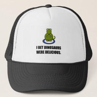 Los dinosaurios de la apuesta eran deliciosos gorra de camionero