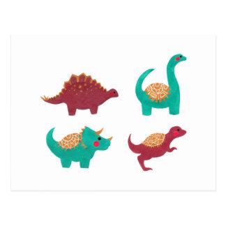 Los dinosaurios postal