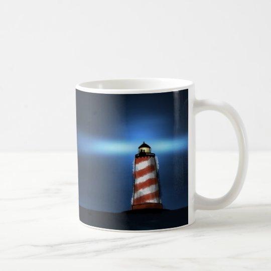 Los dos y el faro taza de café