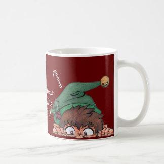 ¡Los duendes hicieron que lo hace! Taza De Café