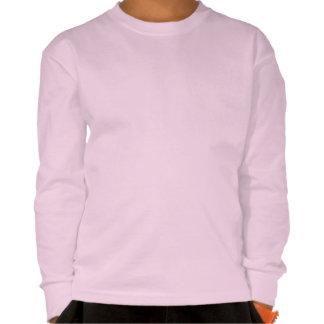 los dulces de la comida de la baya del rosa del camisetas
