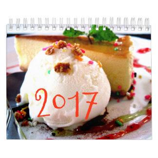 Los dulces hacen calendarios 2017