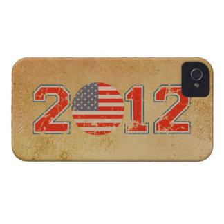 Los E.E.U.U. 2012 iPhone 4 Case-Mate Protectores