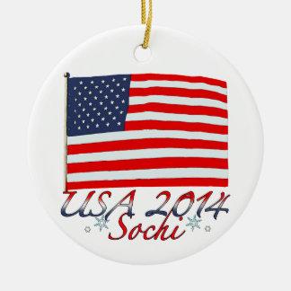 Los E E U U 2014 Ornaments Para Arbol De Navidad