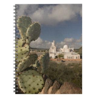 Los E.E.U.U., Arizona, Tucson: Misión San Javier d Libreta Espiral