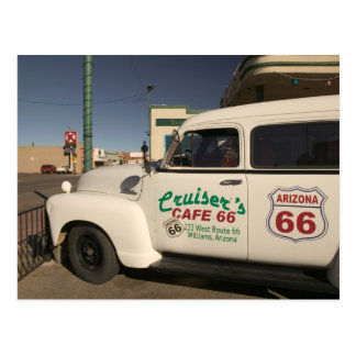 Los E.E.U.U., Arizona, Williams: Café 66 de los Postal