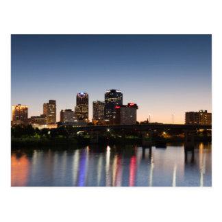Los E.E.U.U., Arkansas, Little Rock, horizonte de Postal