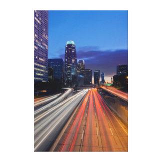 Los E.E.U.U., California, Los Ángeles, 110 Lienzo Envuelto Para Galerias