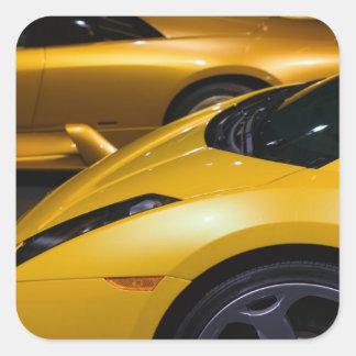 Los E.E.U.U., California, Los Ángeles: Auto de Los Calcomanía Cuadradas Personalizadas