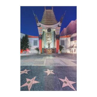 Los E.E.U.U., California, Los Ángeles, Hollywood Impresiones En Lona Estiradas