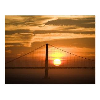 LOS E.E.U.U. California. San Francisco. Ajuste de  Tarjetas Postales