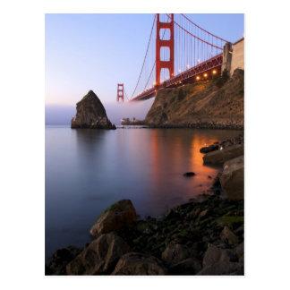 Los E.E.U.U., California, San Francisco. Golden Ga Tarjeta Postal