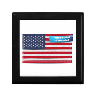 Los E.E.U.U. cosieron concepto de la bandera de la Caja De Joyas