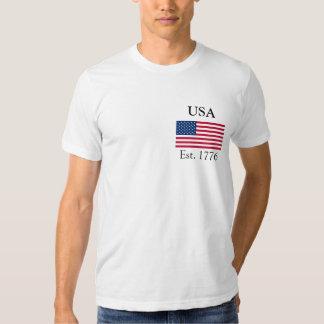 Los E.E.U.U. Est. 1776 Camisas