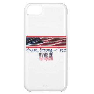 Los E.E.U.U. fuertes Funda Para iPhone 5C
